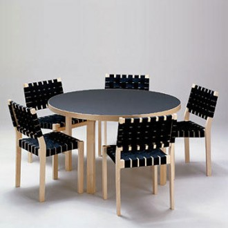 dining table alvar aalto dining table. Black Bedroom Furniture Sets. Home Design Ideas