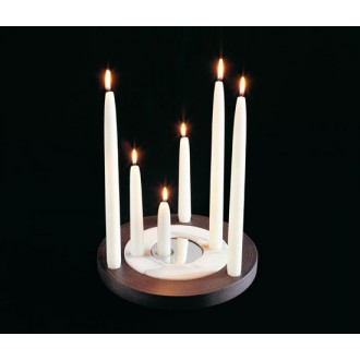 Garth Roberts Halo and Aura Candleholder