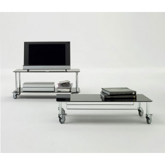 Marco Zanuso Jr. Moby 1 and  Moby 2 Television Trolley