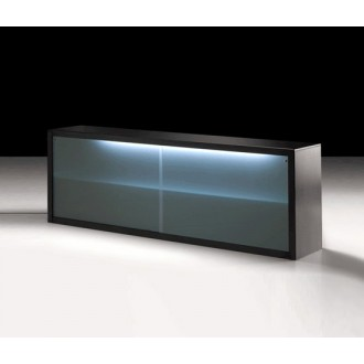 Maurizio Peregalli Big Irony Glass Doors Sideboard