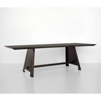 Maurizio Peregalli Fratino Table and Bench