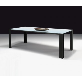 Maurizio Peregalli White Glass Big Irony Table