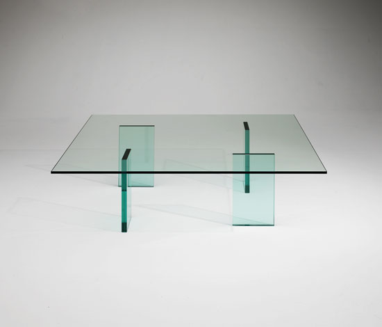 Shiro Kuramata Glass Low Table