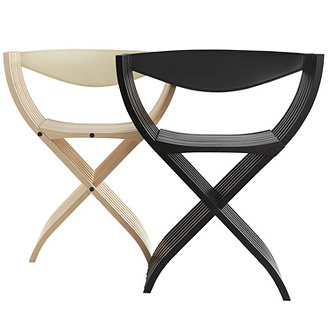 Pierre Paulin Curule Chair