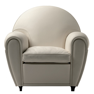 Poltrona Frau New Deal Armchair