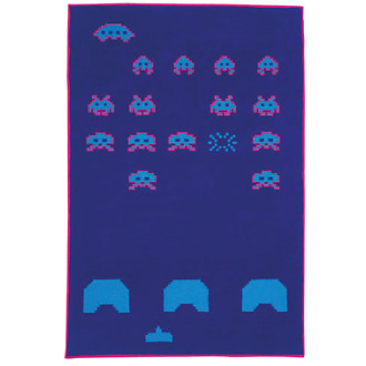 Richard Shemtov Invaders Carpet