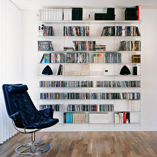 Peter Cohen Cell Bookshelf