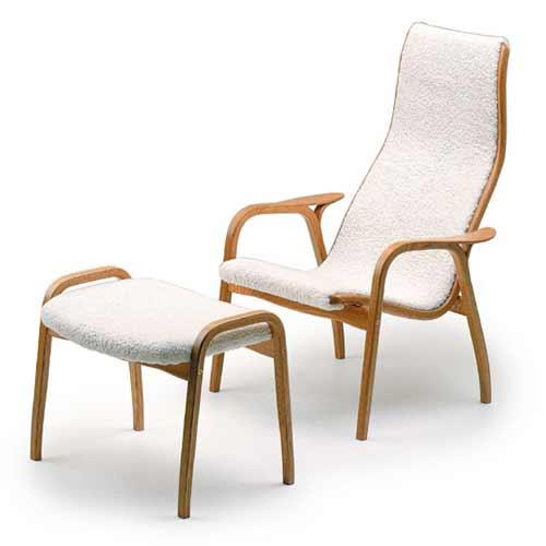 Yngve Ekström Lamino Easy Chair