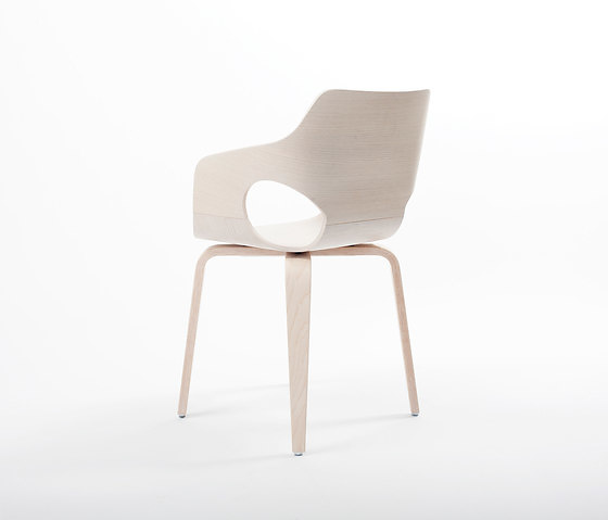 Arend Jan Hovestadt Curved Oak Chair