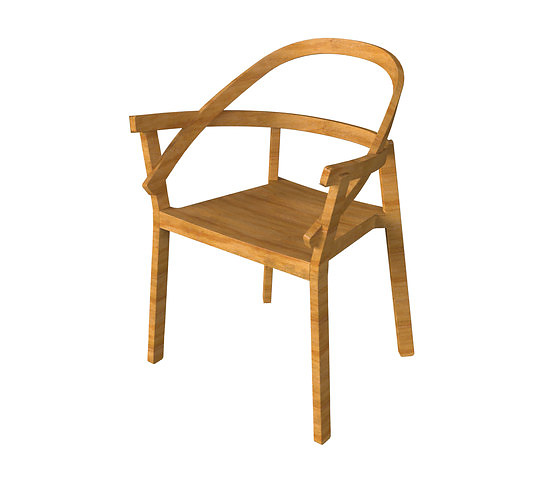 Atelier Oï Embrasse Chair