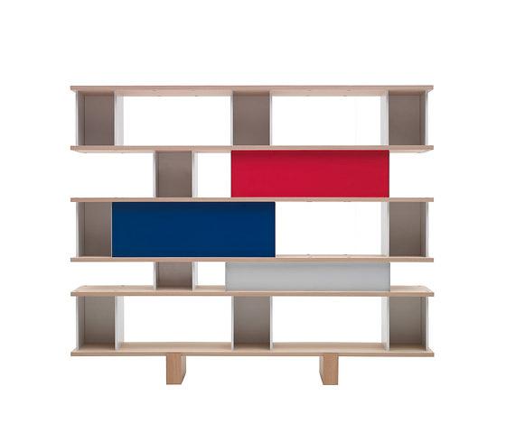 Charlotte Perriand Nuage Bookshelf and Cupboard