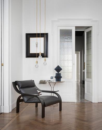 Marco Zanuso Woodline Armchair