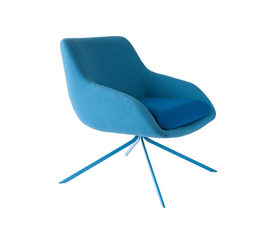 Mario Ruiz Blue Chair