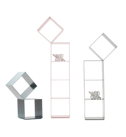 Nendo Drop Bookshelves
