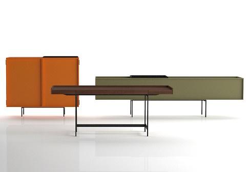 Piero Lissoni Lochness Cupboard, Table and Desk