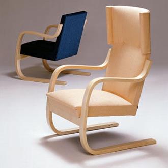 Alvar aalto armchair 401 for Aalto chaise lounge