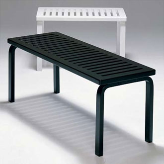 Alvar Aalto Bench 153A and 153B
