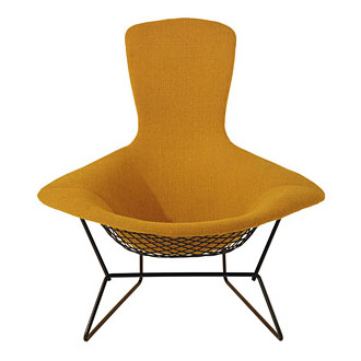 Category armchairs and lounge chairs harry bertoia bird lounge chair