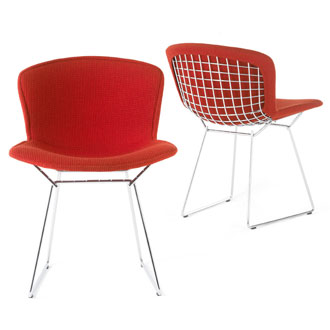 Bertoia Leather Seat Pads By Alphaville Design | ModernCollections.com