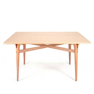 Bruno Mathsson Tables With Cleft Legs