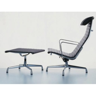Charles And Ray Eames Aluminium Group Ea 124 Ea 125 Chairs