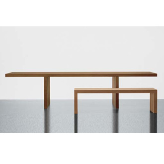 Claudio Silvestrin Millennium Hope Table and Bench