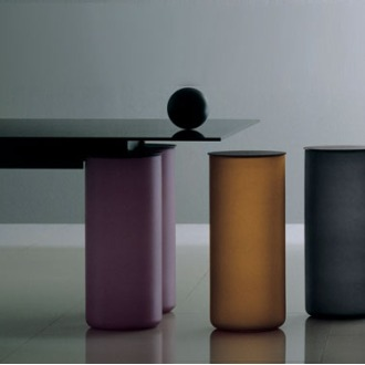 David Law, Lella Vignelli and Massimo Vignelli Serenissimo Table