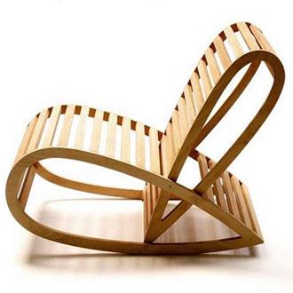 David trubridge rocking chair for Sillas descanso modernas