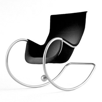 Eero Aarnio Keinu Rocking Chair