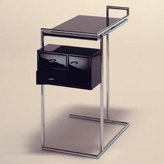 Eileen Gray Petite Coiffeuse Dressing Table