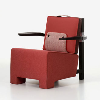 Hella Jongerius The Worker Armchair