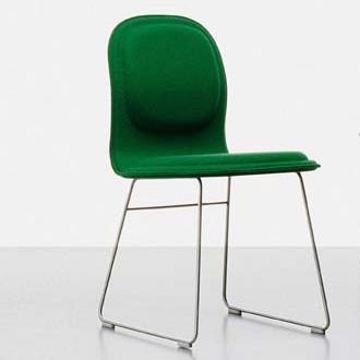 Jasper morrison hi pad chair for Plywood chair morrison