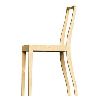 Jasper morrison ply chair for Plywood chair morrison