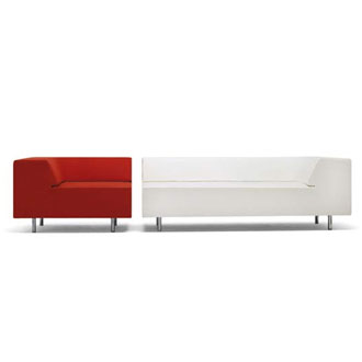 Jean-Marie Massaud Easy Block Chaise Longue and Easy Chair