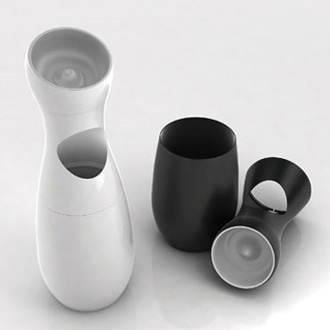 Karim Rashid Koon Garbage Can With Ashtray