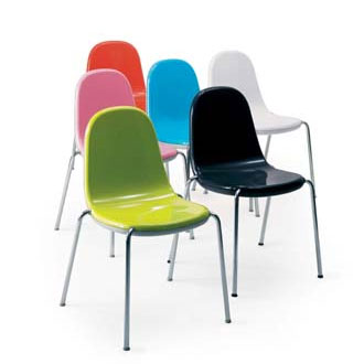 Childrens Panton Chair COMPUTER CHAIR: Stacking Chairs