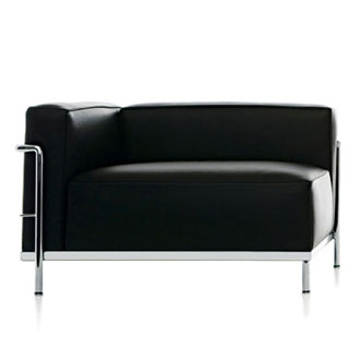 Le Corbusier, Pierre Jeanneret and Charlotte Perriand LC3 Méridienne Armchair