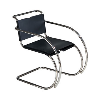 ludwig mies van der rohe mr chair. Black Bedroom Furniture Sets. Home Design Ideas