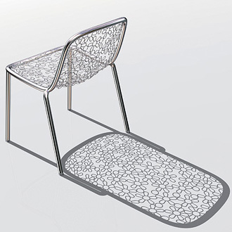 Marcel Wanders Flower Dining Chair