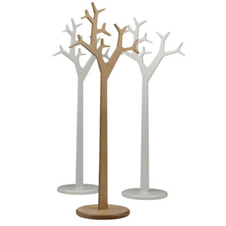 Michael Young and Katrin Petursdottir Tree Coat Hanger