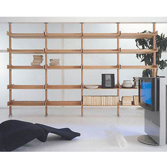 Piero Lissoni and Lorenzo Porro Bibliotech Bookcase