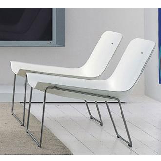 Ronan erwan bouroullec spring plastic armchair - Ronan et erwan bouroullec ...