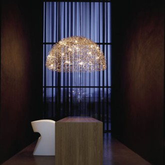 William Brand & Annet van Egmond Crystal Waters Lamp