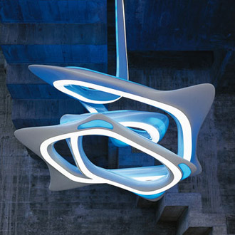Zaha Hadid and Patrik Schumacher VorteXX Chandelier