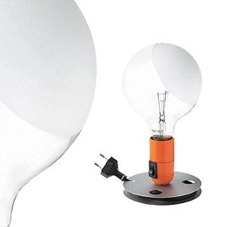 Achille castiglioni lampadina lamp for Castiglioni light
