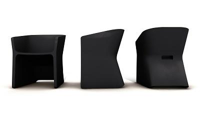 Alain Gilles Sliced Chair