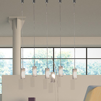 Alessandro Trentin and Carlo Zerbaro Luna Hanging Lamp