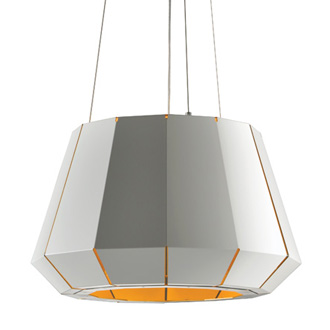 Alessandro Trentin and Carlo Zerbaro Quartz Hanging Lamp