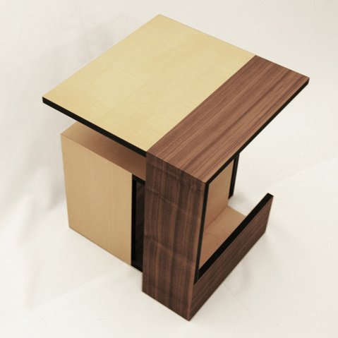 Alexander Britt Moebius Cube Table
