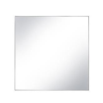 Wall mirror no frame